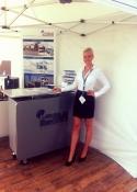 promo girls southampton boat show