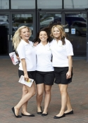 trade show hostesses London Excel