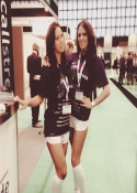 exhibition hostesses ICE Gaming Show London UK