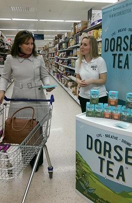 hire sampling staff Dorset