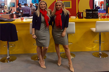 Two professional, promotional models working in Birmingham