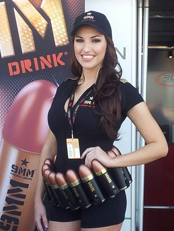 hire hot grid girls for the BSB