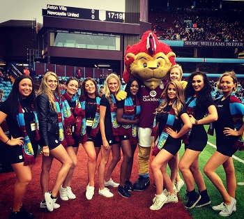 Promo Girls Leicester City & Aston Villa
