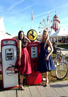 Promo Girls Goodwood Revival