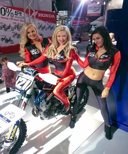 promo girls and hostesses motorcycle live, Birmingham