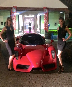 hire promo girls and hostesses London Motor Show