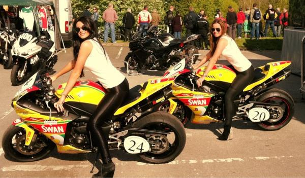 NEC Motorcycle Live Promo Girls