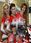 hire grid girls for bike shows motorcycle live