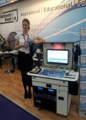 exhibition sales staff Olympia London