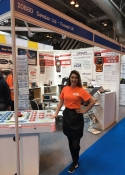 hire exhibition sales staff, print show NEC