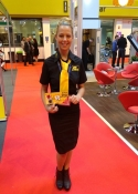 promo staff for hire & exhibition staff Print Show NEC