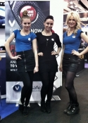 exhibition hostesses London Olympia