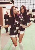 hire uk trade show models