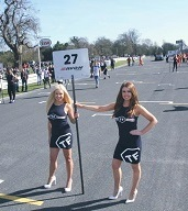 grid girls for hire croft circuit