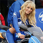 Sexy motorsport grid girls and promotional models available to hire