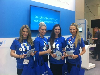 exhibition hostesses Harrogate Internationa Centre
