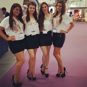 southampton boat show hostesses, hire a corporate hostess
