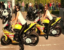 BSB donington park Grid girls