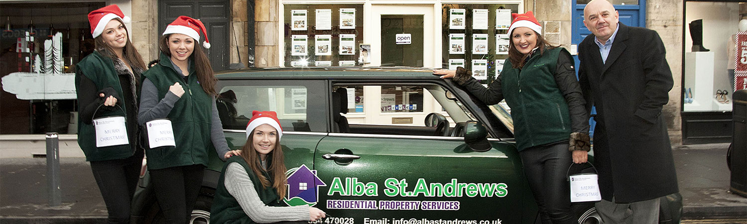 Promotional Staff provided for local property business collecting for charity