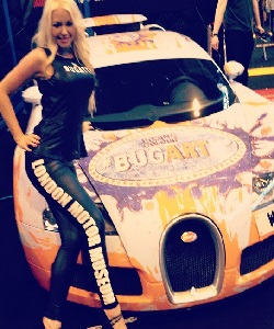 hire girls for the London Motor Show