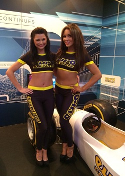 hire promo girls for events at Cadwell Park