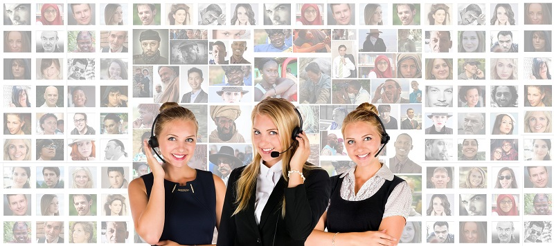 hire temporary customer service staff