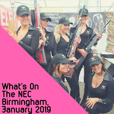 What's On – The NEC Birmingham, January 2019