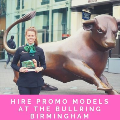 Hire Promo Models At The Bullring Birmingham