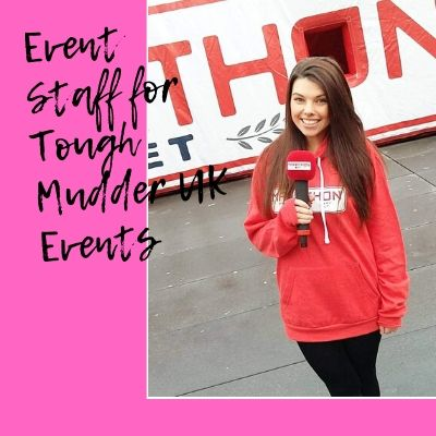 Event Staff For Tough Mudder UK Events