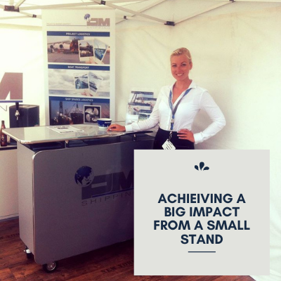 Achieving A Big Impact From A Small Stand