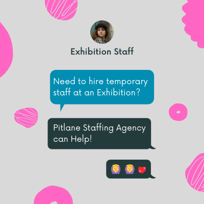 Need To Hire Temporary Staff At An Exhibition?